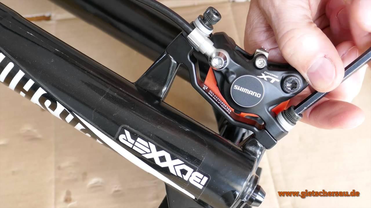 Aufbau und Montage eines Downhill Mountainbikes - YouTube