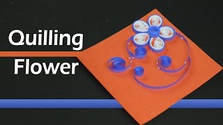 Paper Quilling for Beginners: Quilling Flower Pattern Card Design