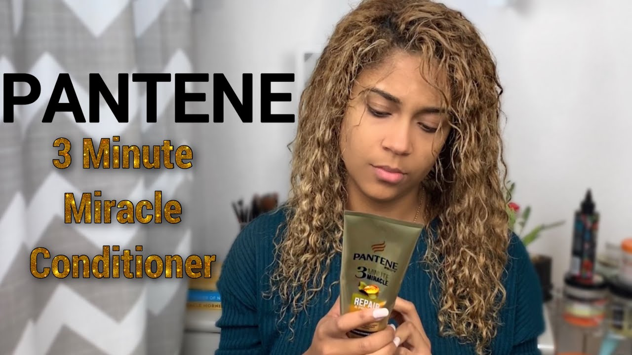 Pantene 3 Minute Miracle Conditioner Review Youtube