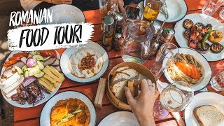 Delicious ROMANIAN FOOD TOUR! - Bucharest, Romania