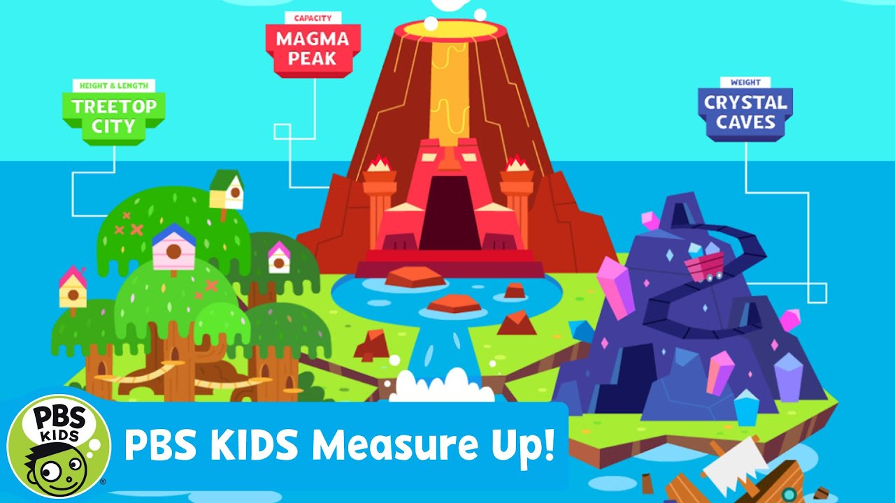 APPS amp GAMES PBS KIDS Measure Up PBS KIDS YouTube