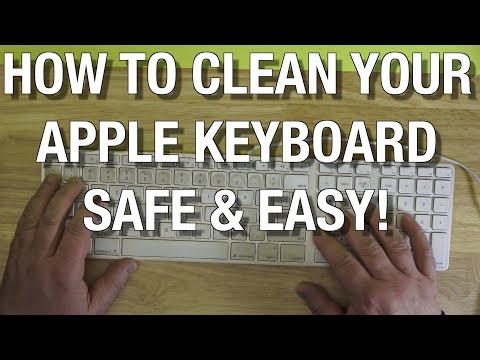 How To Clean YOUR  Apple Keyboard