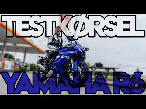 Yamaha YZF R6 2017 - Testkørsel / First ride (ENG subs)
