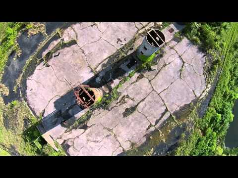 Abandoned Coal Tipple Site in Southeastern Kentucky - Aerial Drone Video