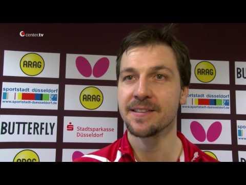 Center TV im Interview mit Timo Boll und Kristian Karlsson