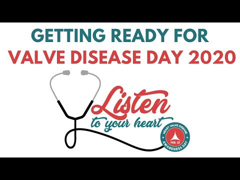 Getting Ready for Valve Disease Day 2020