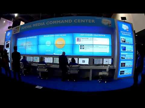 Salesforce Social Media Command Center 2013 International CES 1-8-13