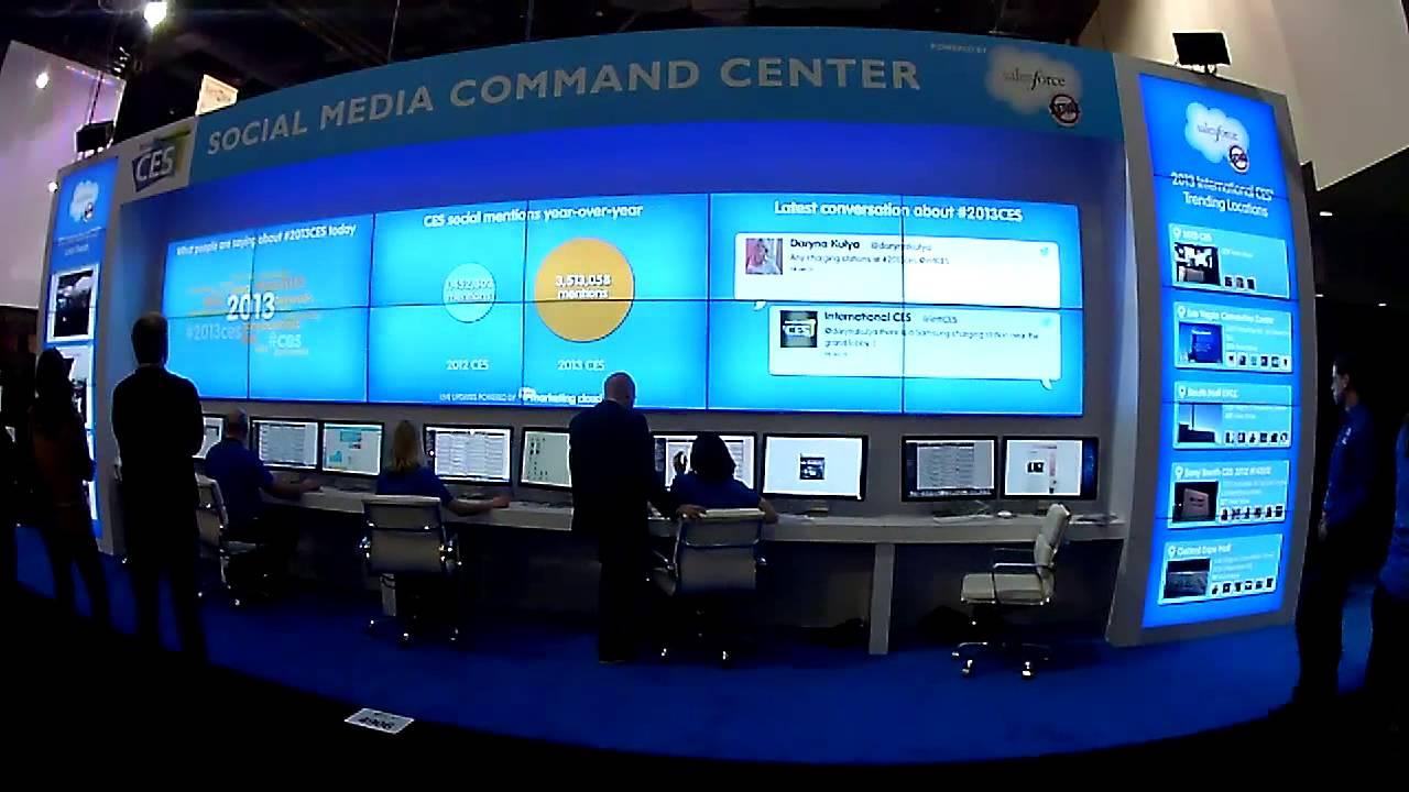 Salesforce Social Media Command Center 2013 International