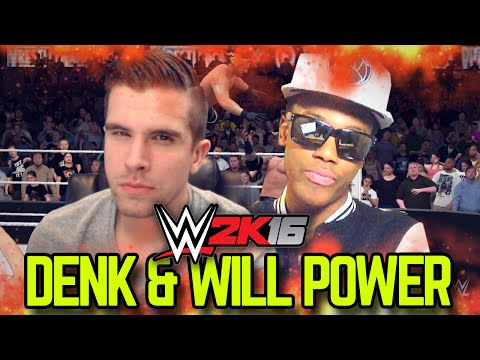 WWE 2K16: DENK & WILL POWER!! THE MEGA POWERS UNITE!!