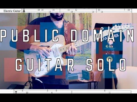 Public Domain Guitar Solo - Ben Levin
