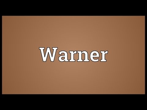 Warner Meaning