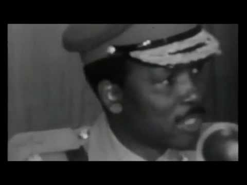 Major-General Gowon and Colonel Obasanjo Accept Biafra