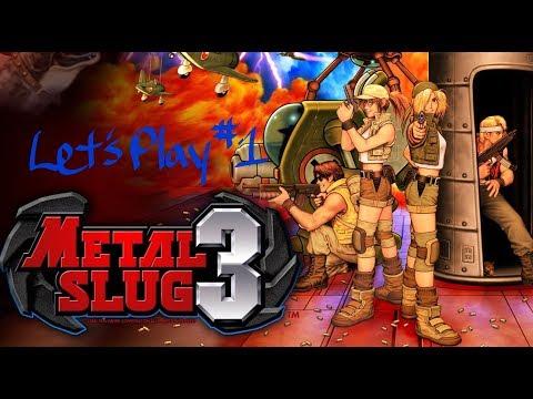 CHARLIE SHEEN MADE IT LOOK SO EASY - Let's Play Metal Slug 3 #1 |
