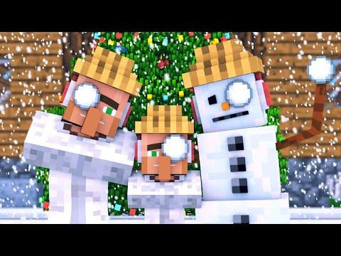 Snowman & Villager