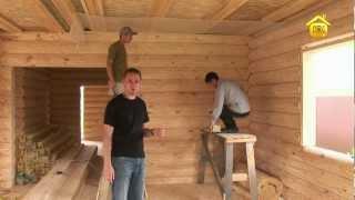 Отделка потолка вагонкой  // FORUMHOUSE(Как правильно обшить потолок вагонкой. Практические советы. http://www.forumhouse.tv/video/109/, 2012-07-05T04:05:50.000Z)