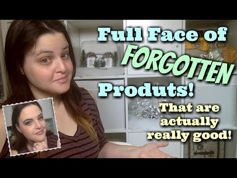 """LIVE CHAT: Get Ready With Me! """"Forgotten Products"""" That Are REALLY GOOD!"""