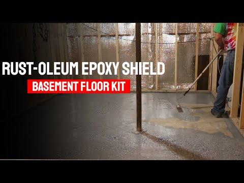 Rust-Oleum 203007 Epoxy Shield Basement Floor Kit