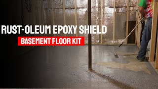 Rust-Oleum Epoxy Shield Basement Floor Kit