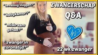MEGA ZWANGERSCHAP Q&A 🤰 22 wk ( al jullie vragen beantwoorden) 🧐 | Bellinga Vlog #2017