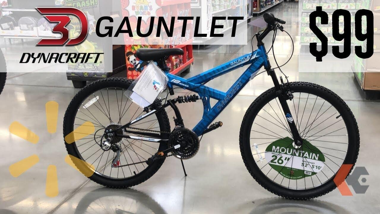 Dual Suspension Mountain Bikes Walmart >> 99 Dynacraft Gauntlet Dual Suspension Mountain Bike From Walmart