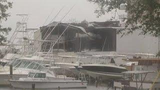 Hurricane Matthew pounds Florida with blinding rain, ferocious winds