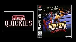 Spotlight Quickies - Power Move Pro Wrestling (Playstation)