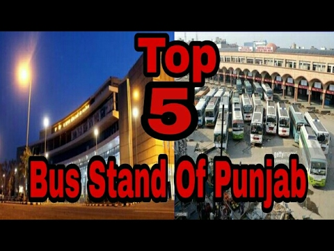 Top 5 Bus Stand of Punjab (India) / Vicky Kee