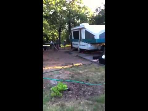 Camping at Arcadia Lake 2012