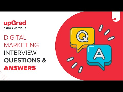 Digital Marketing Interview Question And Answers   UpGrad