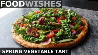 Spring Vegetable Tart - Food Wishes