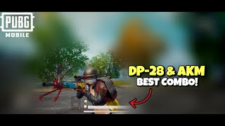 DP-28 & AKM Action | PUBG MOBILE | Powerful Weapon Combo!