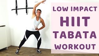 36 Minute Low Impact HIIT Workout For Fat Loss – Tabata HIIT Exercises with Low Impact - No Jumping