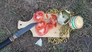 нож из подшипника как режет