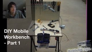 "Diy Portable ""mobile Workbench"" For Your Camper (or Tiny House/apartment) - Part 1"
