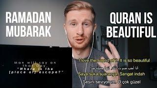 REACTING TO QURAN RECITATION (BEAUTIFUL!!) FOR RAMADAN
