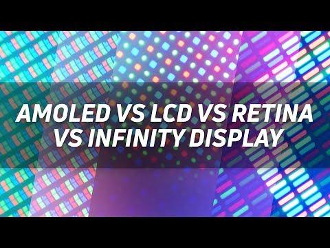 Display showdown: AMOLED vs LCD vs Retina vs Infinity Display