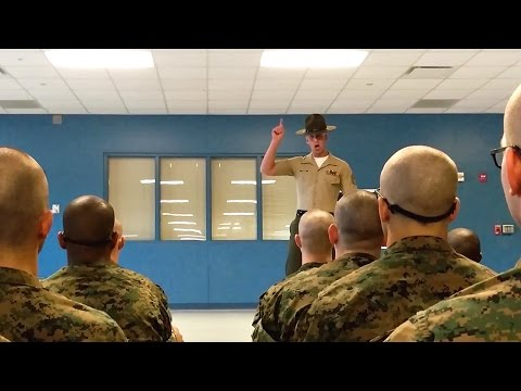 These Are The First Words From Drill Instructors In Marine Boot Camp