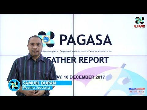 Public Weather Forecast Issued at 4:00 AM December 10, 2017