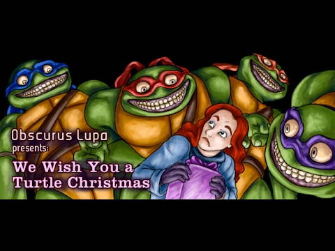 We Wish You a Turtle Christmas (1994) (Obscurus Lupa ...