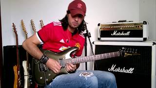 Thunder High on the Mountain Joe Satriani - cover  Gil  Azevedo