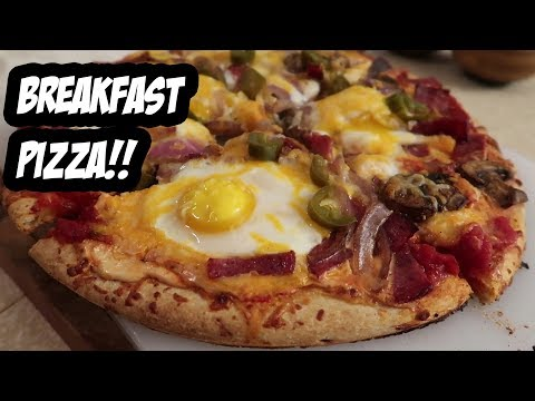 Amazing Homemade Breakfast Pizza Recipe