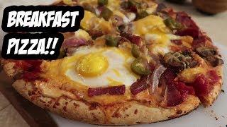 Amazing Homemade Breakfast Pizza Recipe!