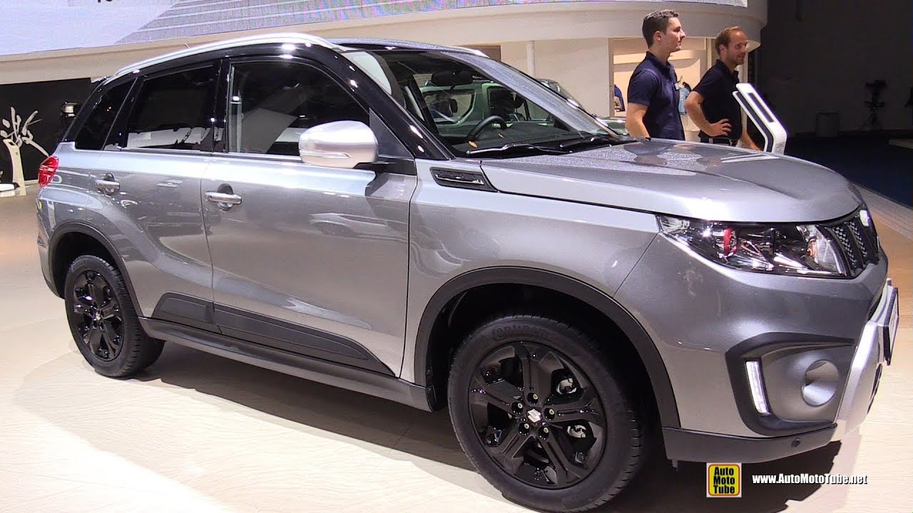 2018 suzuki vitara s all grip exterior and interior walkaround 2017 frankfurt auto show. Black Bedroom Furniture Sets. Home Design Ideas