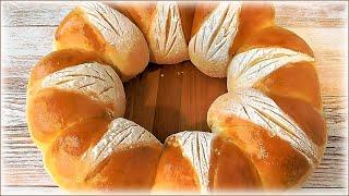 Рецепт домашнего пшеничного хлеба Корона