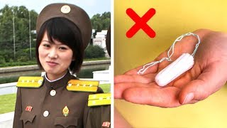 6 Dinge, die in Nordkorea verboten sind!