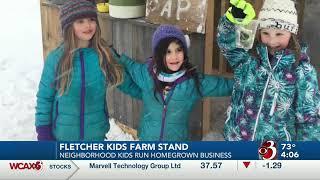 Franklin County kids run their own year-round farm stand