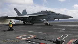 USS Abraham Lincoln Flight Ops - Feb 2019