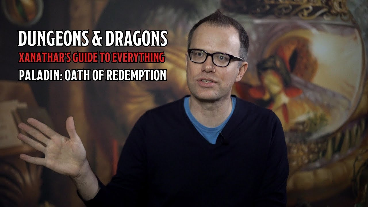 5E Xanathar's Guide to Everything: The Oath of Redemption Paladin