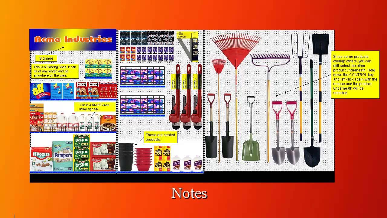 additional features of shelf logics planogram software