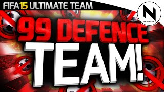 99 DEFENDING TEAM! - FIFA 15 Ultimate Team
